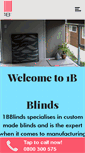 Mobile Preview of 1bblinds.co.nz